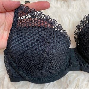 Victoria's Secret Intimates & Sleepwear - Victoria's Secret • Black Fishnet Bra